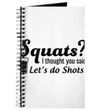 Squats? thought said shots Journal