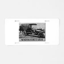 Cute Antique car Aluminum License Plate