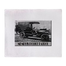 Cute Antique car Throw Blanket