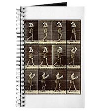 Muybridge: Man with Hat Journal