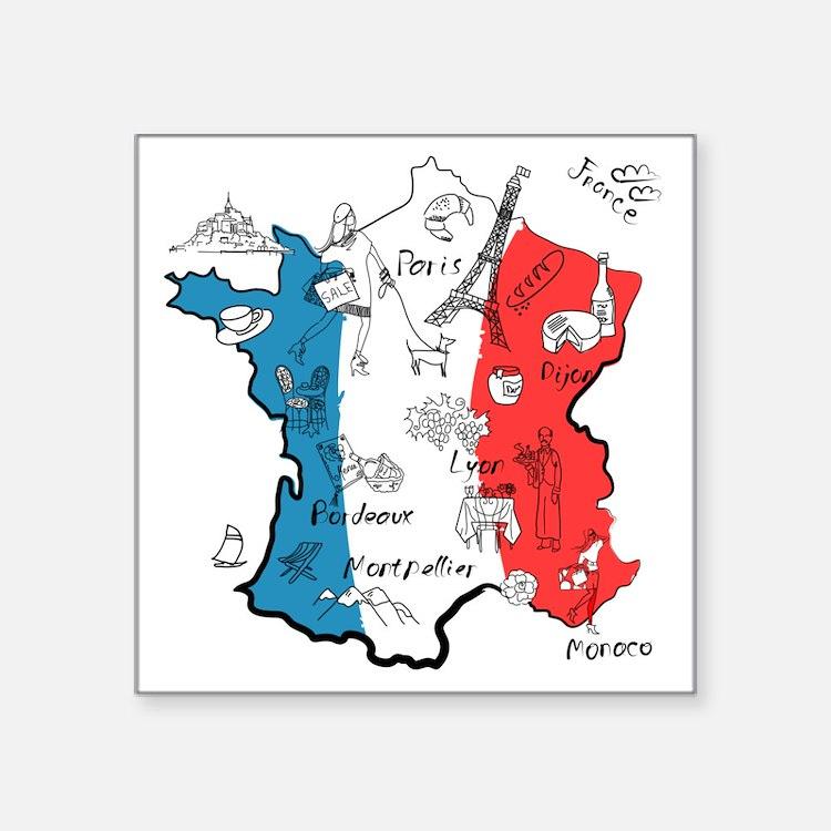 everything France Sticker