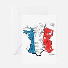 everything France Greeting Cards