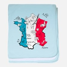 everything France baby blanket