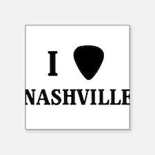 I pick Nashville Sticker