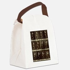 Muybridge: Man with Hat Canvas Lunch Bag