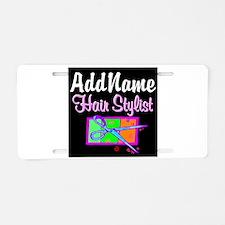 TRENDY STYLIST Aluminum License Plate