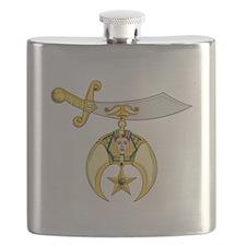 Cute Shriner Flask