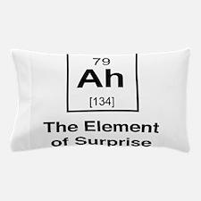 Ah the element of surprise Pillow Case