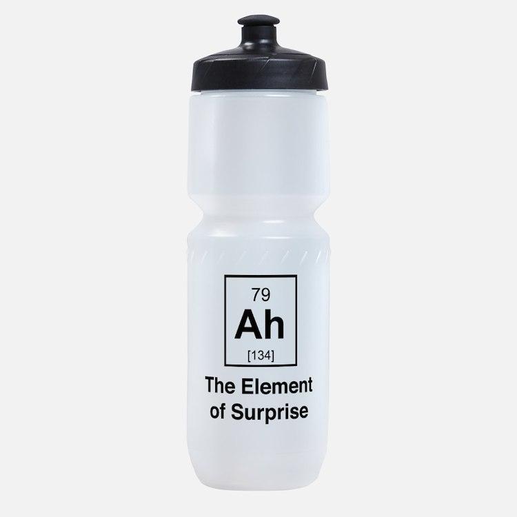 Ah the element of surprise Sports Bottle