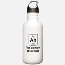 Ah the element of surprise Water Bottle