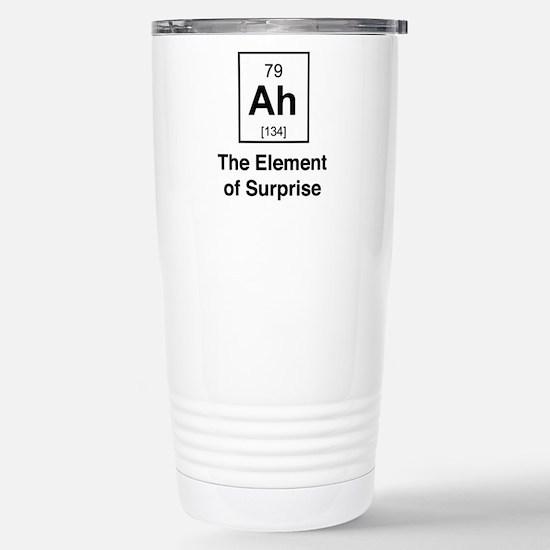 Ah the element of surprise Travel Mug