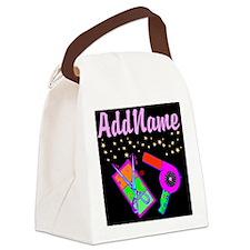 HOT HAIR STYLIST Canvas Lunch Bag