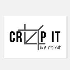 Crop It Like It's Hot Postcards (package Of 8)