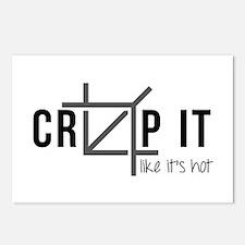 Crop It Like It's Hot Postcards (package Of 8)