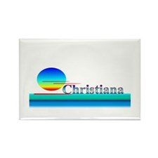Christiana Rectangle Magnet (10 pack)