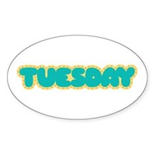 Tuesday Decal