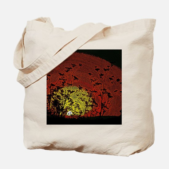 Bloody Sunrise Tote Bag