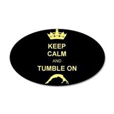 Keep Calm and Tumble on Wall Decal