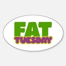 Fat Tuesday Decal