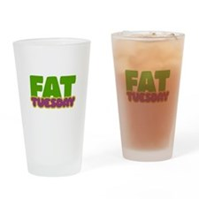 Fat Tuesday Drinking Glass