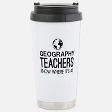 Geography knows where it's at Travel Mug