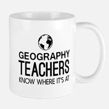Geography knows where it's at Mugs