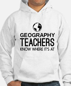 Geography knows where it's at Hoodie