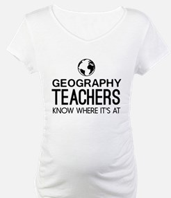 Geography knows where it's at Shirt