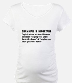 Grammar is important Shirt