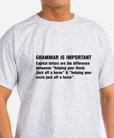 Grammar is important T-Shirt