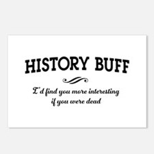 History buff interesting Postcards (Package of 8)
