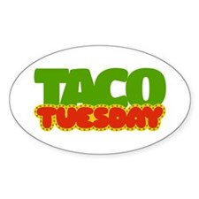 Taco Tuesday Decal
