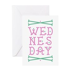 Wednesday Greeting Cards