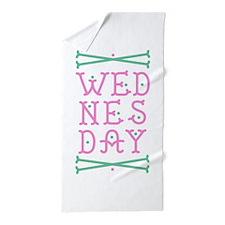 Wednesday Beach Towel
