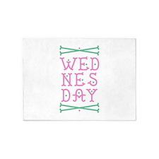 Wednesday 5'x7'Area Rug