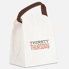 Thirsty Thursday Canvas Lunch Bag