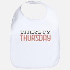 Thirsty Thursday Bib