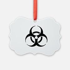 Biohazard Symbol Ornament