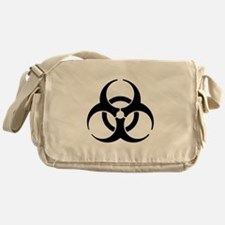 Biohazard Symbol Messenger Bag