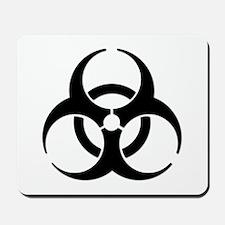 Biohazard Symbol Mousepad