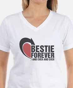 BESTIE FOREVER AND EVER AND EVER COUPLES T-Shirt