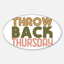 Throwback Thursday Decal
