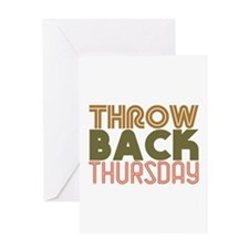 Throwback Thursday Greeting Cards