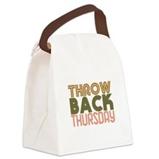 Throwback Thursday Canvas Lunch Bag