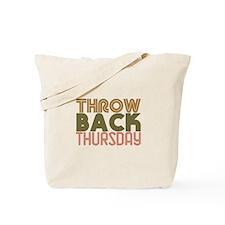Throwback Thursday Tote Bag