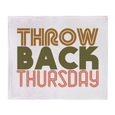 Throwback Thursday Throw Blanket