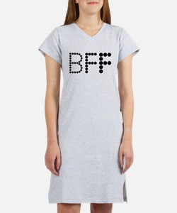 BEST FRIENDS FOREVER COUPLES DESIGN Women's Nights