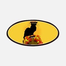 Thanksgiving Le Chat Noir With Turkey Pilg Patches