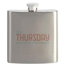 Thursday Like Weekend Flask
