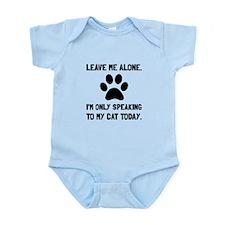 Alone Speaking Cat Body Suit